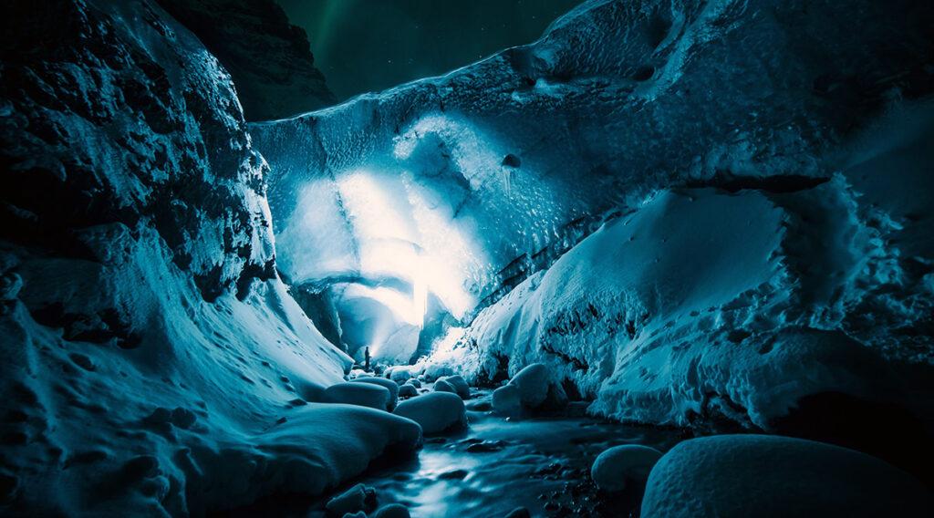 Istider är tider för glaciärer. Foto: Jonatan Pie. Licens: Unsplash.com
