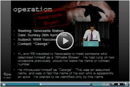 Andrew Wakefield video