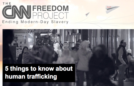 CNN against trafficking