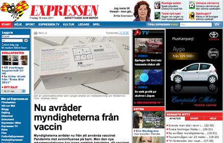 vaccin myndigheter avråder