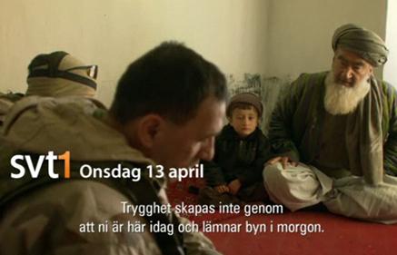 Krig för fred, SVT