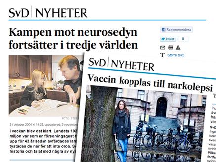 narkolepsi och neurosedyn