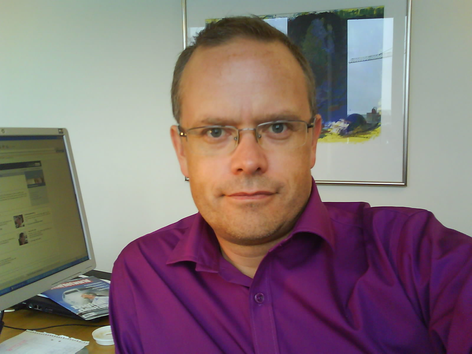 Torbjörn Sassersson, 9 jan 2009, selfie