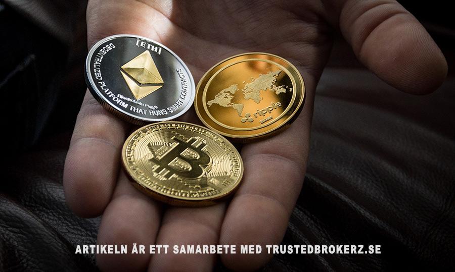 Kryptovalutor ger dig smidigare valutahandel. Foto: Worldspectrum. Licens: Pexels.com