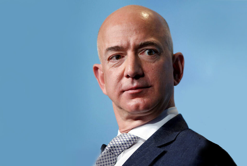Amazons VD Jeff Bezos. Public Domain. Flickr.com.