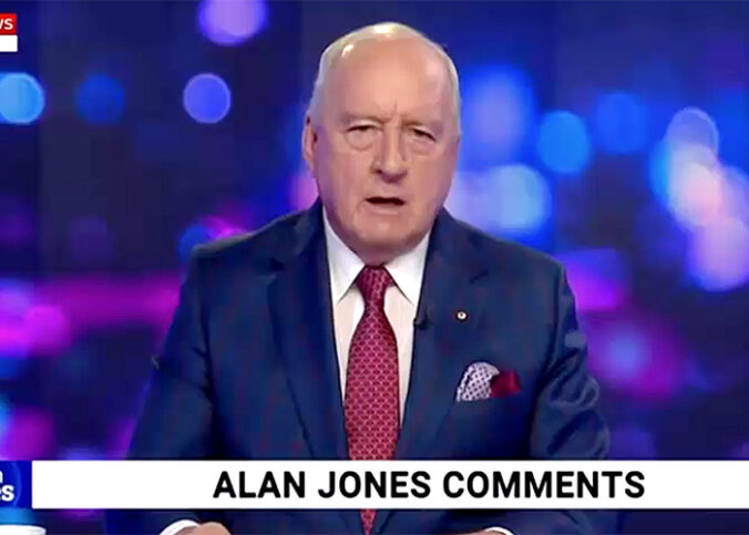Alan Jones, 16 september 2020. Foto: SkyNews Australia