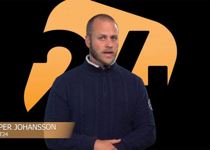 Jesper Johansson, aug 2020. Foto: Exakt24.se