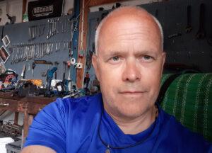 Torbjörn Sassersson, selfie, 2021-07-23